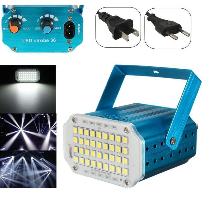 Stroboscope laser lumière 36 Super Bright LED stage éclairage mini Flash  projecteurs 8171a634a528