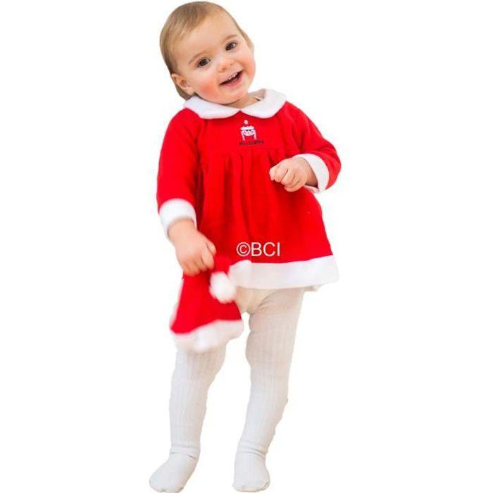 e8d91decfe221 Déguisement mère noël bébé 12 à 18 mois - Achat   Vente déguisement ...