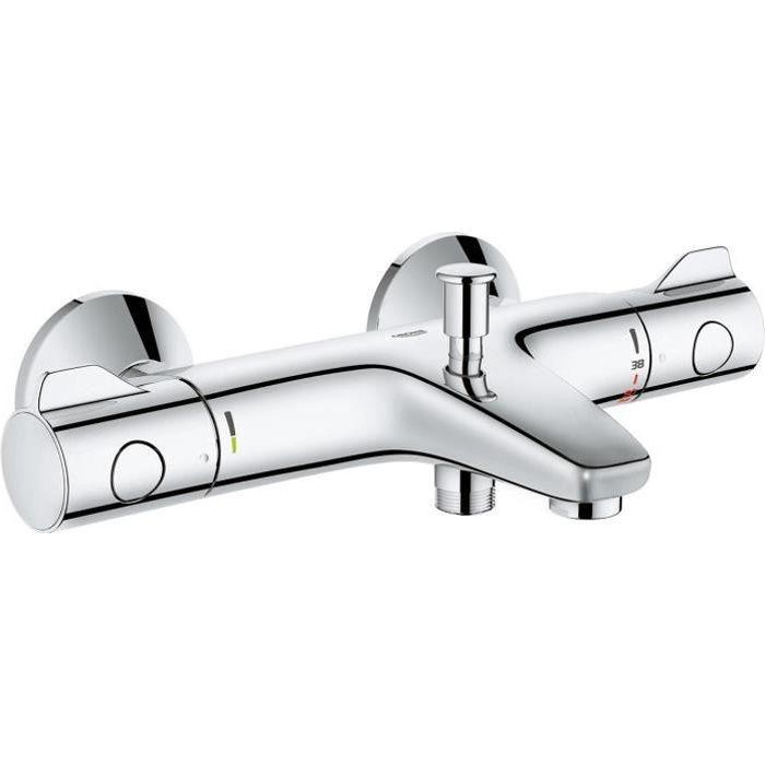 GROHE Mitigeur thermostatique bain et douche Grohtherm 800