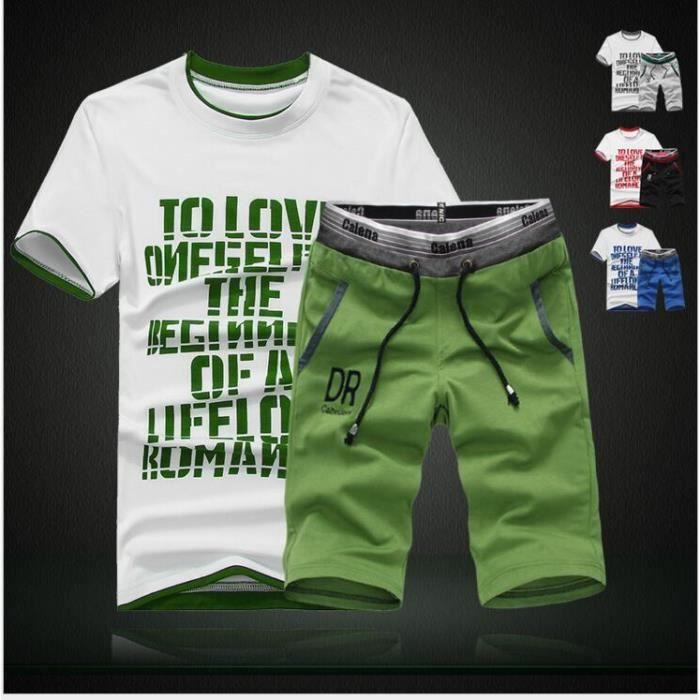 Legou Homme Pantacourt Shirt Sport