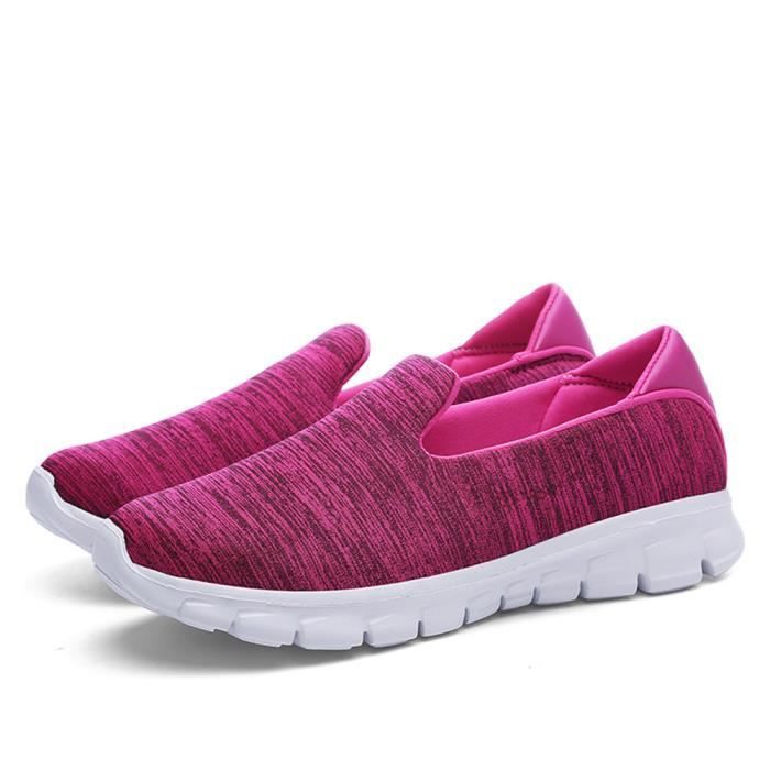 Moccasin femme Nouvelle Mode 2017 ete Respirant chaussure sneaker Grande Taille Loafer Marque De Luxe Moccasins à plateformes 42 8GMhbGcMd