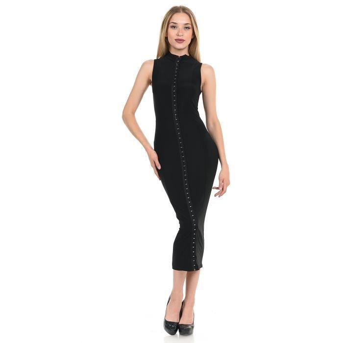 Craze plus la taille manches longues robe de cocktail en ligne avec de la dentelle PBJH2