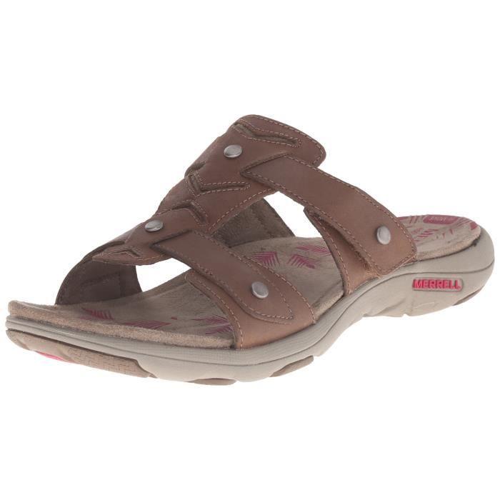 Merrell ADHERA femmes sandale slide en cuir T6QED 39