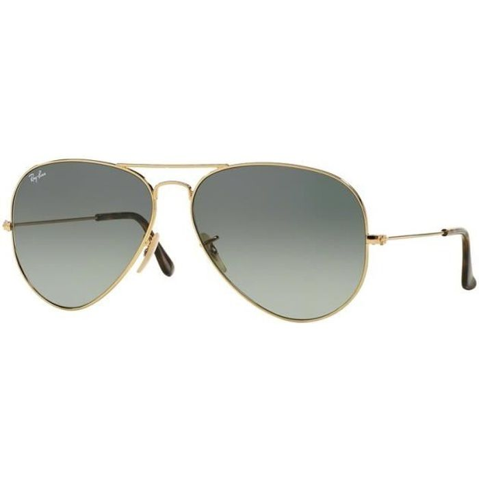 Lunettes de soleil mixtes RAY BAN Or RB 3025 AVIATOR 181 71 58 14 ... 790ac75c3b7d