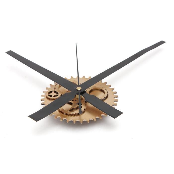 vintage mecanisme de bricolage grande horloge murale salon. Black Bedroom Furniture Sets. Home Design Ideas