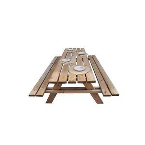 Table de jardin en bois - Achat / Vente Table de jardin en bois pas ...