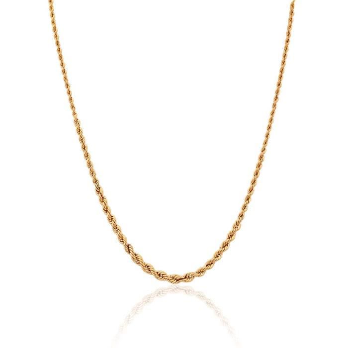 Collier CLEOR Or 375/1000