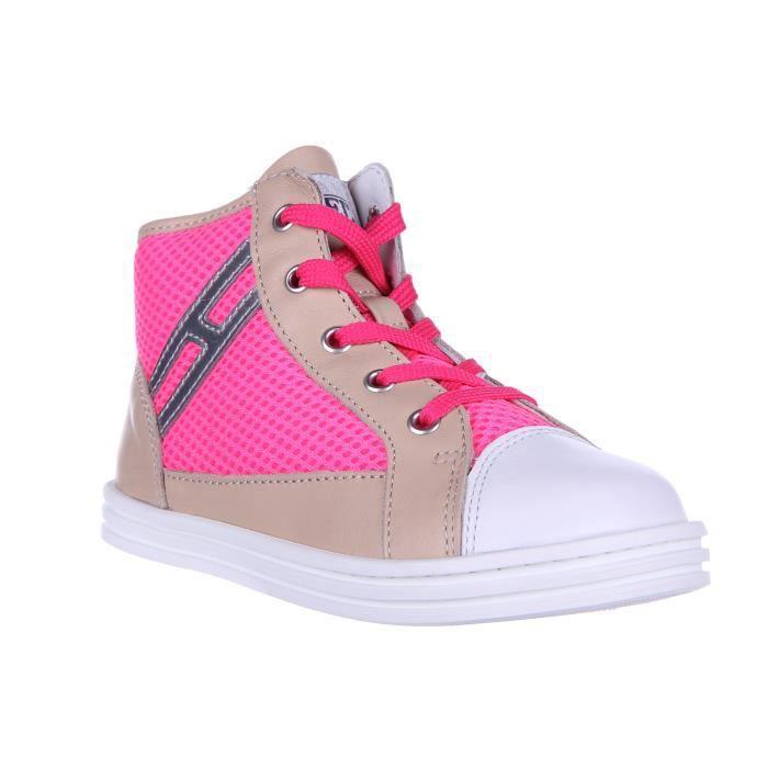 Chaussures baskets sneakers enfant filles altecuir rebel r141 Hogan Rebel