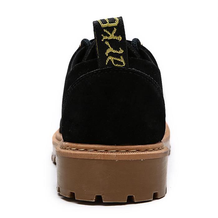 Homme Bottines Nouvelle Mode Les Chaussures De Loisirs Personnalité csemelles de Caoutchou Hommes Bottine Grande Taille