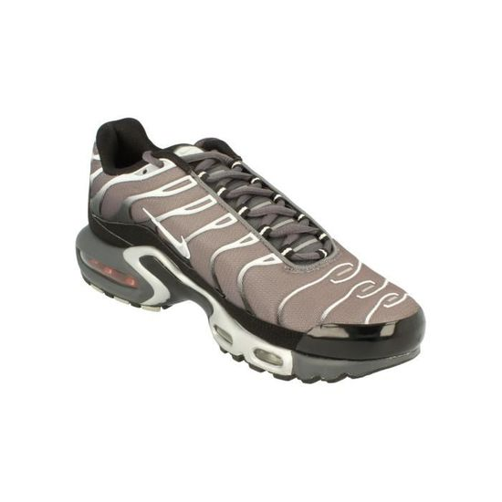 reputable site b30dc 26d32 Nike Air Max Plus Hommes Running Trainers 852630 Sneakers Chaussures 1 Gris  Gris - Achat   Vente basket - Cdiscount