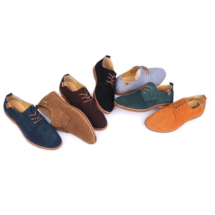 Tm Mens Pu Leather Lace Up Casual Driving Working Shoes N7KD5 Taille-47 1-2 VnfeNvE