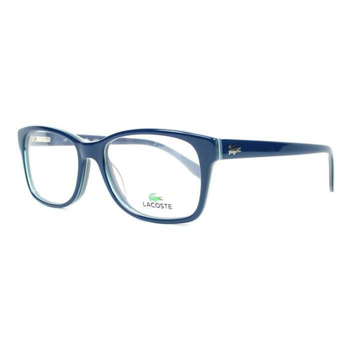 82e036bba2 Lunettes de vue Lacoste L2724 -424 Bleu brillant - Bleu transparent ...