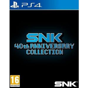 JEU PS4 SNK 40th Anniversary Collection Jeu PS4