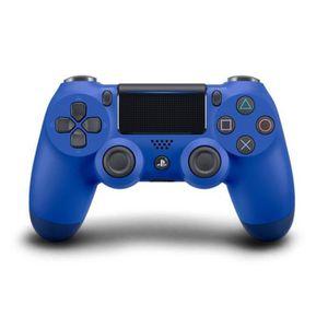 MANETTE JEUX VIDÉO Manette DualShock Bleue PS4 V2