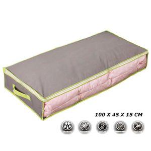 tiroir de rangement sous lit achat vente tiroir de rangement sous lit pas cher soldes d s. Black Bedroom Furniture Sets. Home Design Ideas