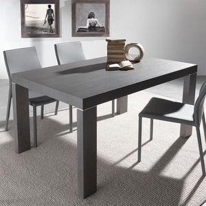 Table A Manger Chene Gris Achat Vente Pas Cher
