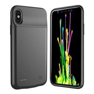 BATTERIE EXTERNE Coque Batterie iPhone X--iPhone 10 [Compatible ave