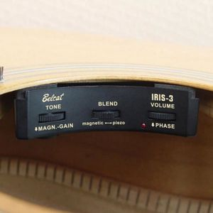 SURFACE DE CONTRÔLE Tête de lecture pour guitare Belcat Preamp Sound H
