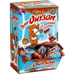 CONFISERIE DE CHOCOLAT L'Authentique Petit Ourson Cémoi Chocolat au Lait