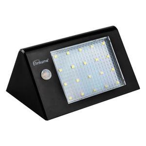 APPLIQUE EXTÉRIEURE Lampes Solaire Appliques Extérieur 20 LED Détecteu