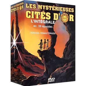 DVD DESSIN ANIMÉ COFFRET 4 DVD LES MYSTERIEUSES CITES D'OR, L'intég