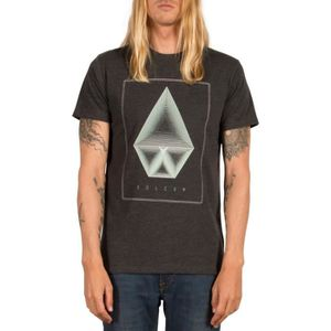 T-SHIRT T-shirt Volcom Concentric Hth Ss Heather Noir afb56abce30f