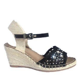 SANDALE - NU-PIEDS Fashionfolie888 - Femmes Sandales Talon Compensées