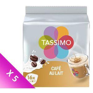 CAFÉ Tassimo Café au Lait en Dosettes x 16 - 184gr