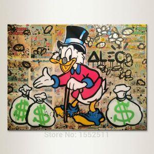 TABLEAU - TOILE Tableau Déco - Toile Imprimée Graffiti Peinture à