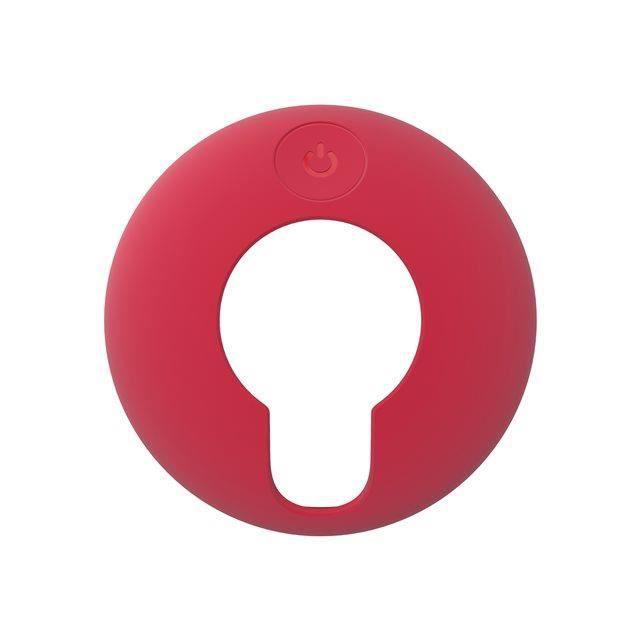 Coque de protection en silicone rouge pour TomTom VIO (9UUA.001.72)