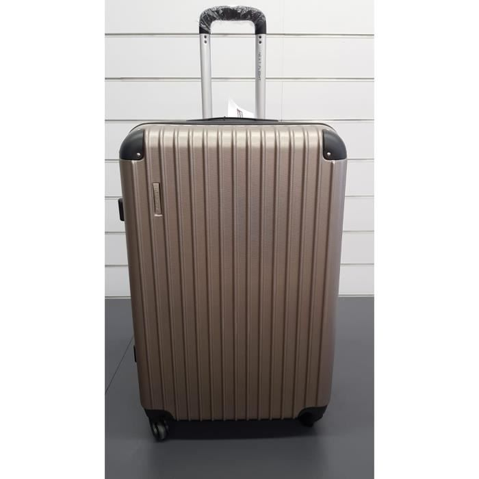 VALISE - BAGAGE Valise taupe 75cm 100% polycarbonate