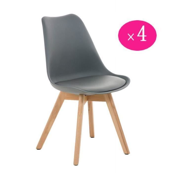 Chaise Scandinave Rembourree Achat Vente Chaise