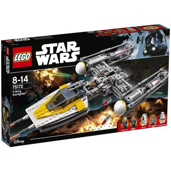 ASSEMBLAGE CONSTRUCTION LEGO® Star Wars 75172 Y-Wing Starfighter™