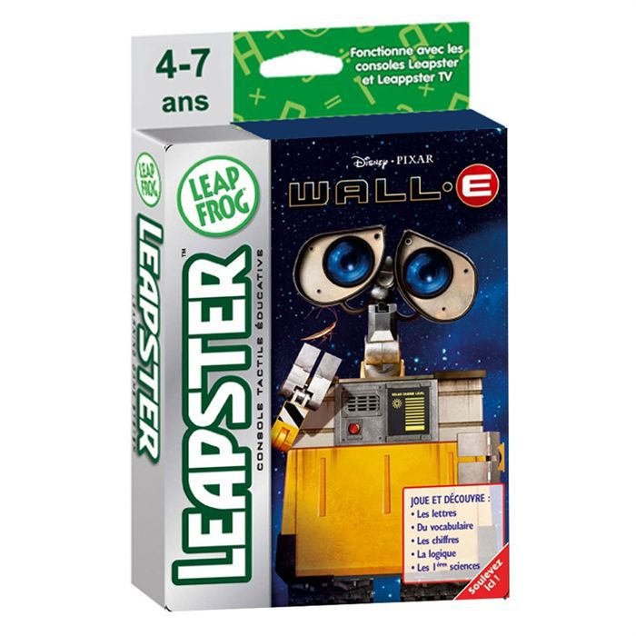 leapfrog leapster wall e achat vente figurine. Black Bedroom Furniture Sets. Home Design Ideas