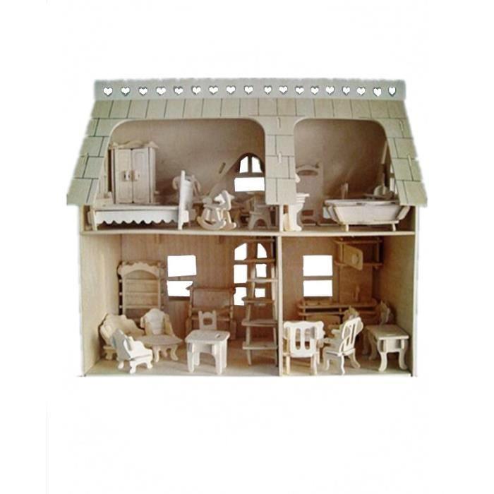 maison en carton enfant achat vente jeux et jouets pas. Black Bedroom Furniture Sets. Home Design Ideas