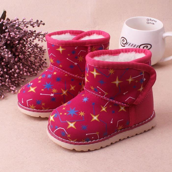 Enfant Hiver Rose Cuir Bb Botte on Neige Chaud En Chaussures Fille 570 Vif2lao Gar De Martin 0rRIqr