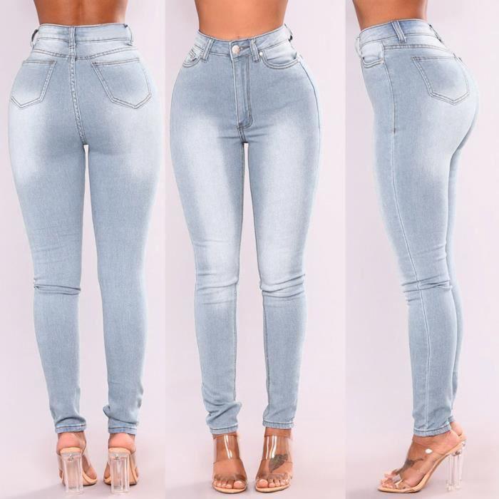 Jeans denim femme - Achat   Vente pas cher b2971cc603d