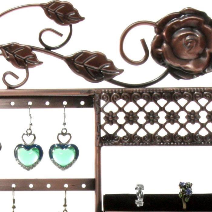 Présentoir fleur porte bijoux mixte colliers, c…