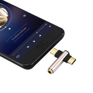 DISQUE DUR SSD 2 en 1 adaptateur USB et Splitter C à 3,5 mm Type