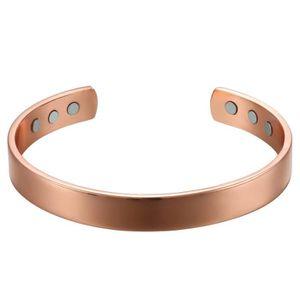 BRACELET - GOURMETTE Oidea Bracelet magnétique Rosegold, réglable en cu
