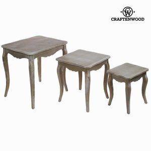 SOMMIER Ensemble de 3 tables anciennes gigognes - décorati