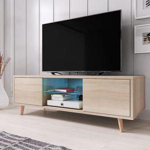 meuble tv meuble tv meuble salon rivano 140 cm effet