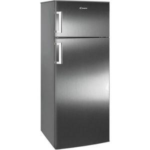 RÉFRIGÉRATEUR CLASSIQUE CANDY CCDS6172FXH - Réfrigérateur congélateur haut