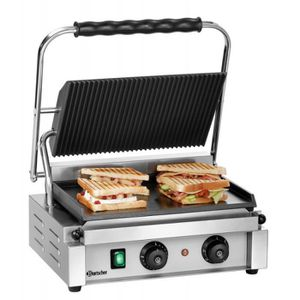 GRILL ÉLECTRIQUE Grill Panini contact avec signal sonore - 2,2 kW -