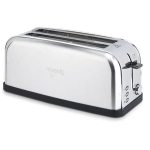 GRILLE-PAIN - TOASTER GRILLE PAIN SPECIAL BAGUETTES TOS28 1500W 2 FENTES