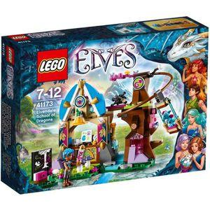 ASSEMBLAGE CONSTRUCTION LEGO® Elves 41173 L'École des Dragons d'Elvendale