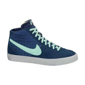 NIKE Baskets Cuir Bruin Mid Homme