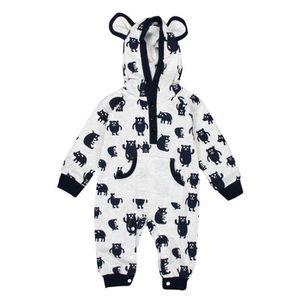 eab637ceb13 Ensemble de vêtements Cartoon du nouveau-né fille de bébé d hiver Hoodie