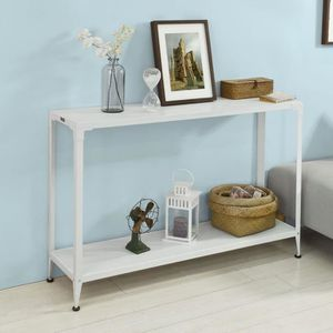 TABLE D'APPOINT SoBuy® FSB08-W Table Console Table d'appoint 1 éta