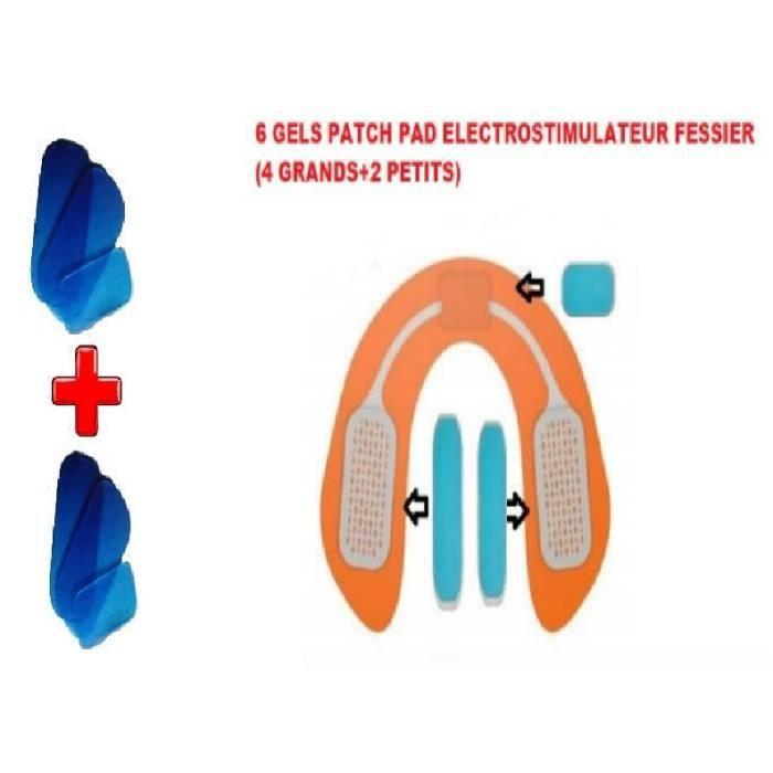 ACCESSOIRE ÉLECTROSTIM GEL PATCH PAD ELECTROSTIMULATION FESSIER/ UNIVERSE